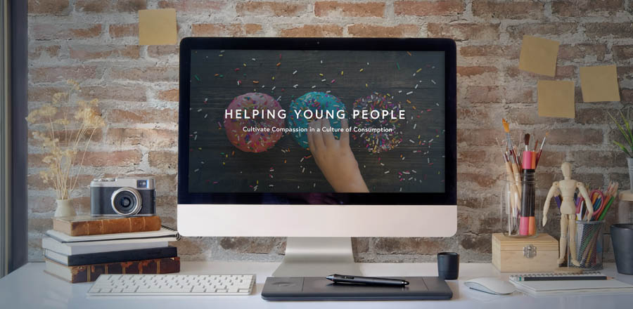 Free Webinar: Helping young people cultivate compassion in a culture of consumption