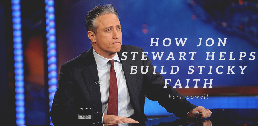 How Jon Stewart Helps Build Sticky Faith