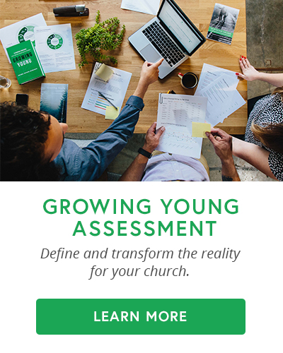 Transform reality in your church through the Growing Young Assessment