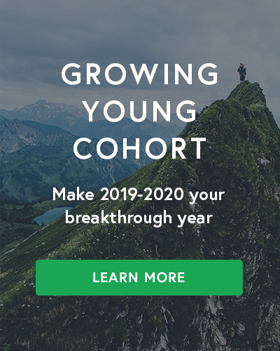 Transform reality in your church through the Growing Young Cohort
