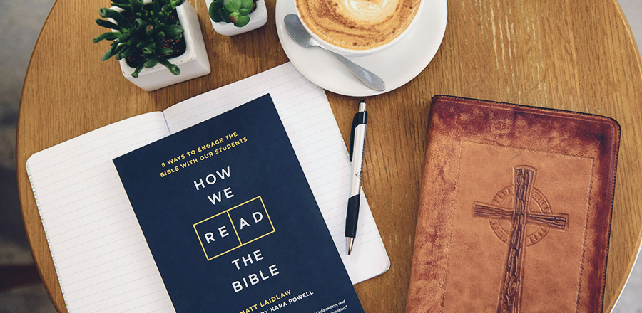 Let's start new conversations about how we read the Bible with teenagers