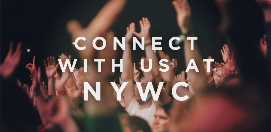 How can I connect with FYI at Youth Specialties' NYWC in Atlanta this week?