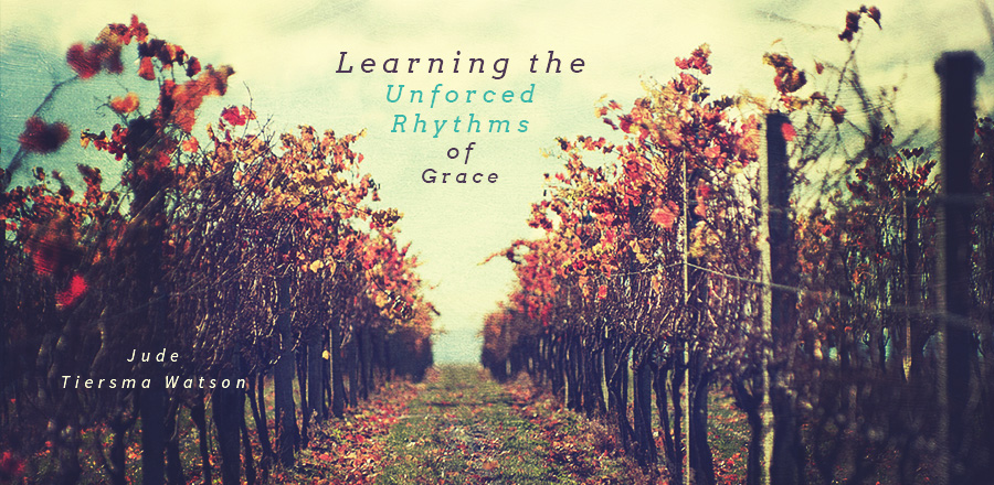 Learning the Unforced Rhythms of Grace