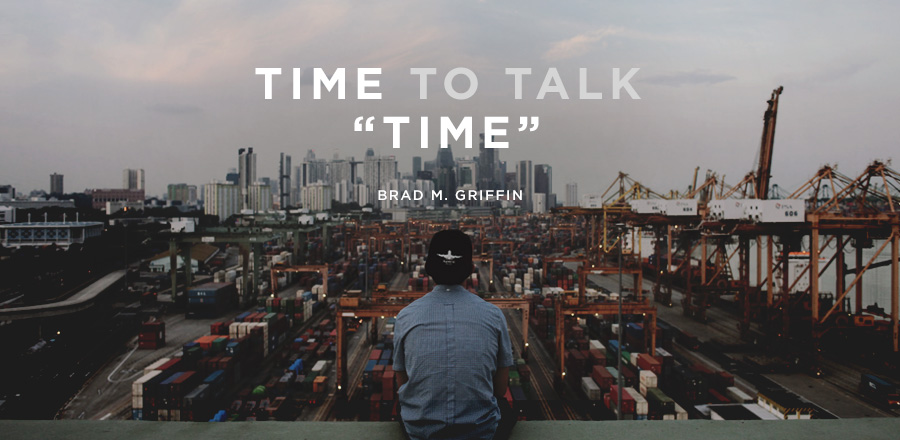 "Time to talk ""time"""