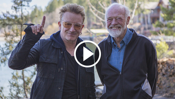 Bono and Eugene Peterson: An Exclusive Interview