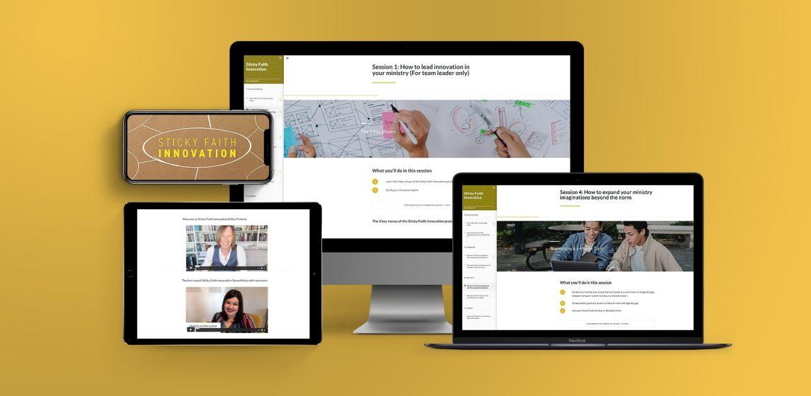 Sticky Faith Innovation Online Team Training