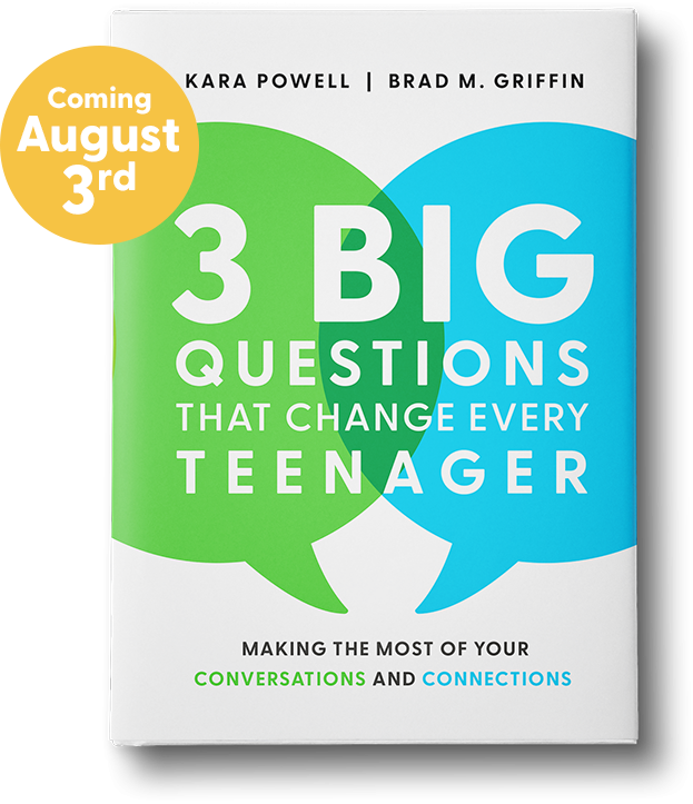 3 Big Questions That Change Every Teenager Book Coming August 3rd